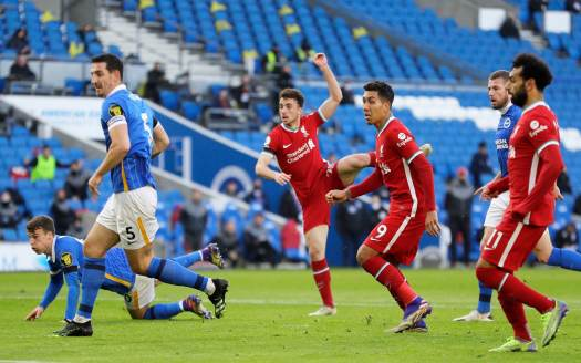 Brighton score controversial late penalty to rescue draw ...