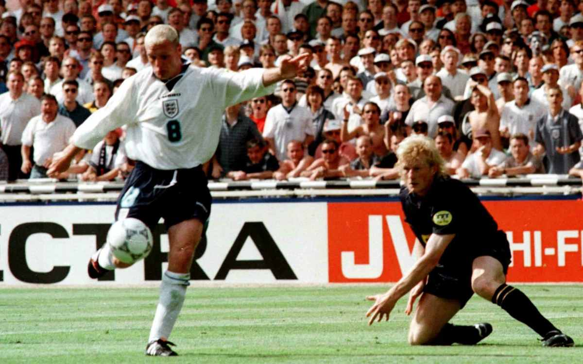 England famously beat Scotland 2-0 at Euro 96 thanks to goals from Alan Shearer and Paul Gascoigne