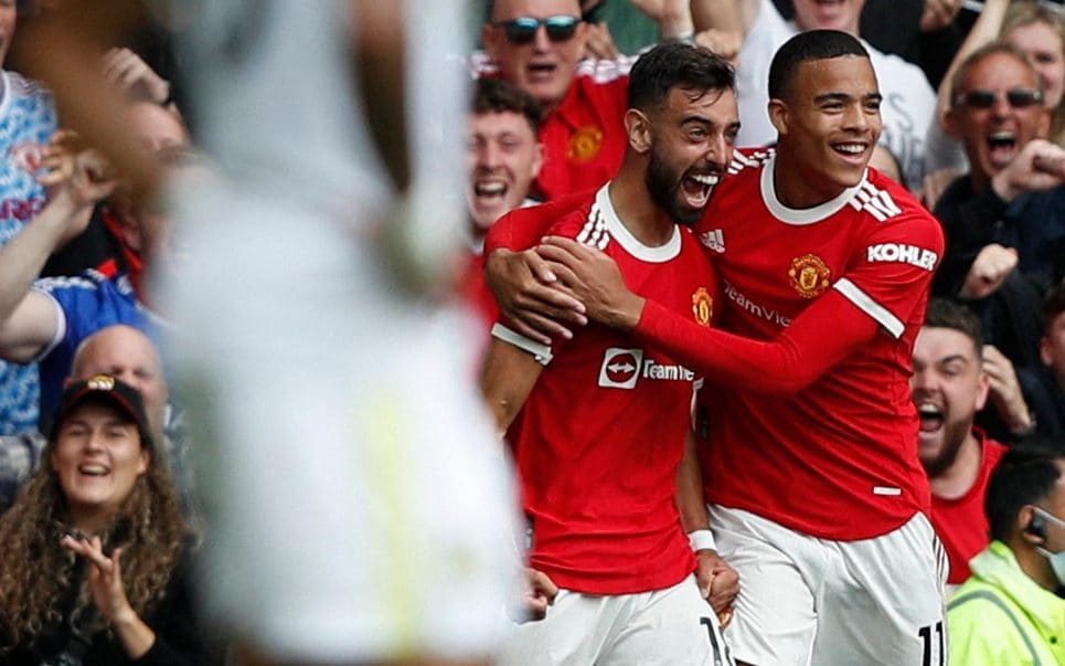 Bruno Fernandes hat-trick as Manchester United outclass Leeds in dominant  performance
