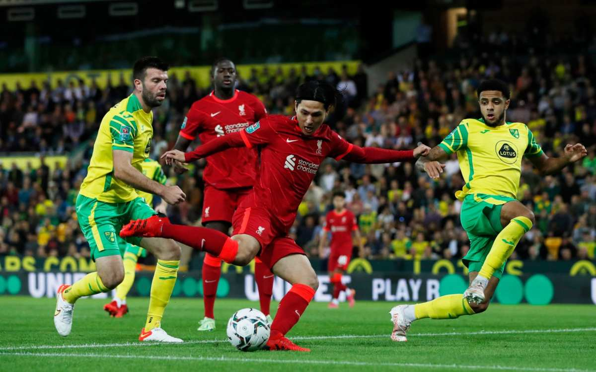 , Norwich City vs Liverpool, Carabao Cup: live score and latest updates, The Evepost BBC News