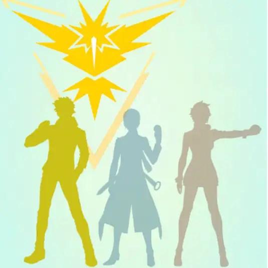 Team Instinct, the yellow team