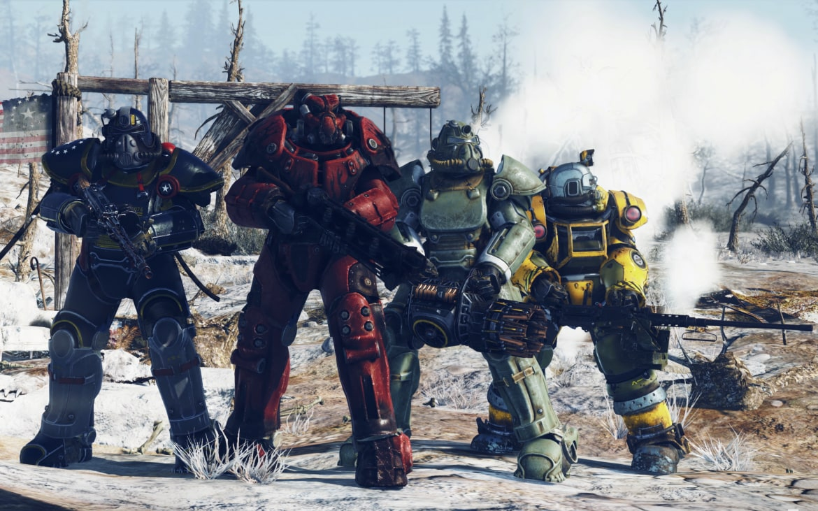 Mythical Creatures In The Fall Wallpaper Fallout 76 Release Date Beta And Everything You Need To