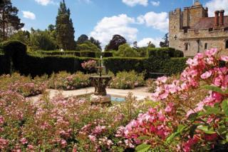 Hever Castle in Kent, the childhood home of Anne Boleyn