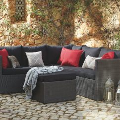 Palermo Rattan Effect Corner Sofa Set Cover Walmart Black Getting Your Garden Furniture Right With The Telegraph