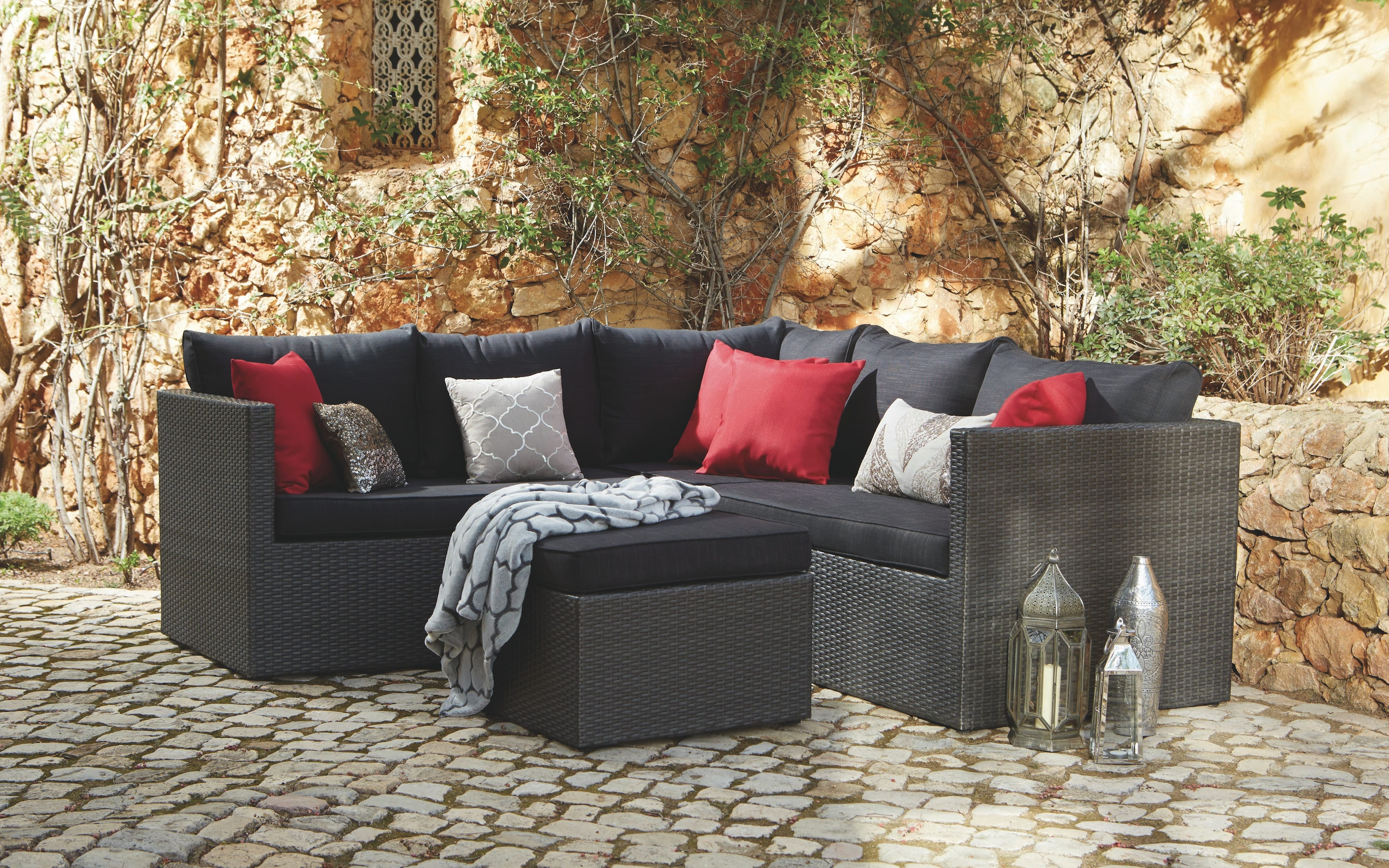 rattan sofa set uk cover for leather getting your garden furniture right with the telegraph balinese dunelm