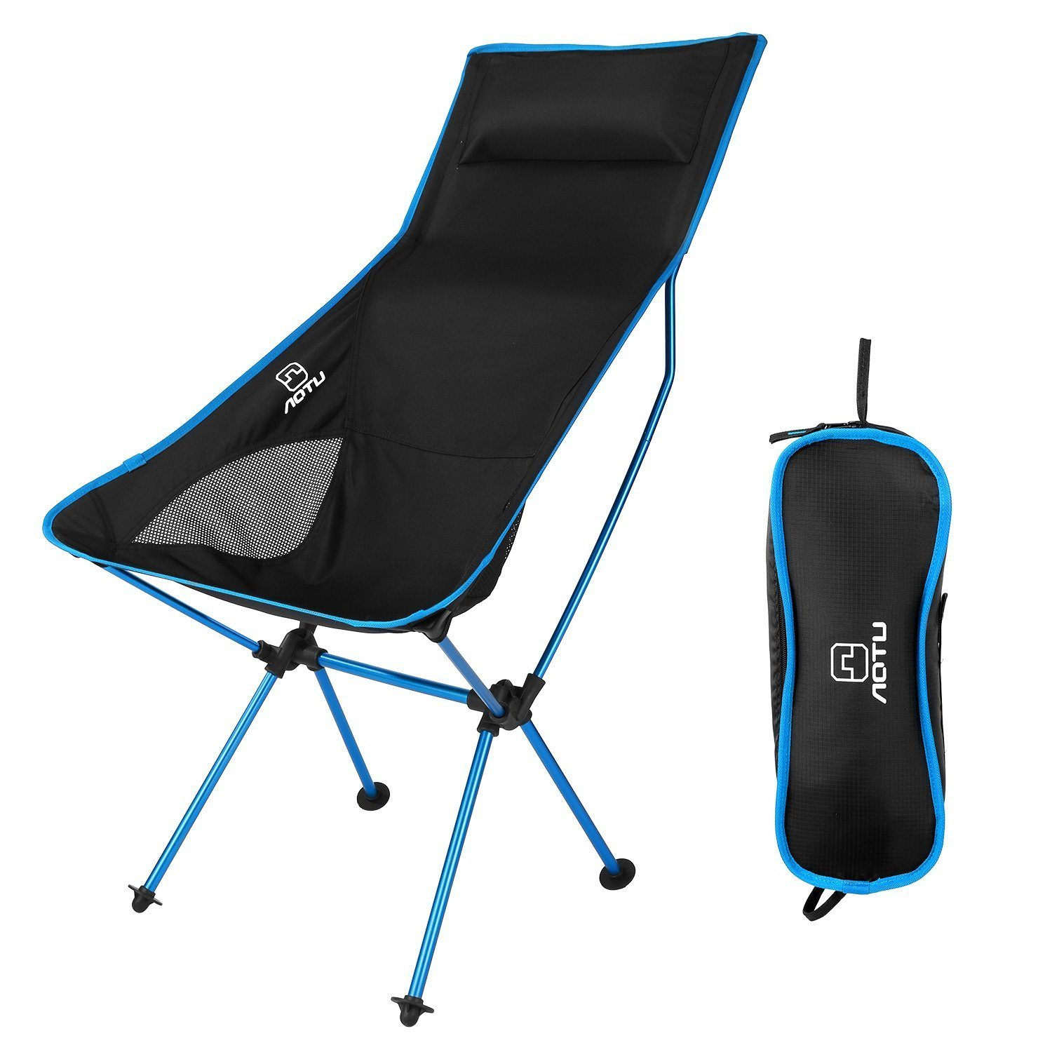 lidl fishing chair mid century modern metal chairs the best camping and loungers telegraph outad with pillow