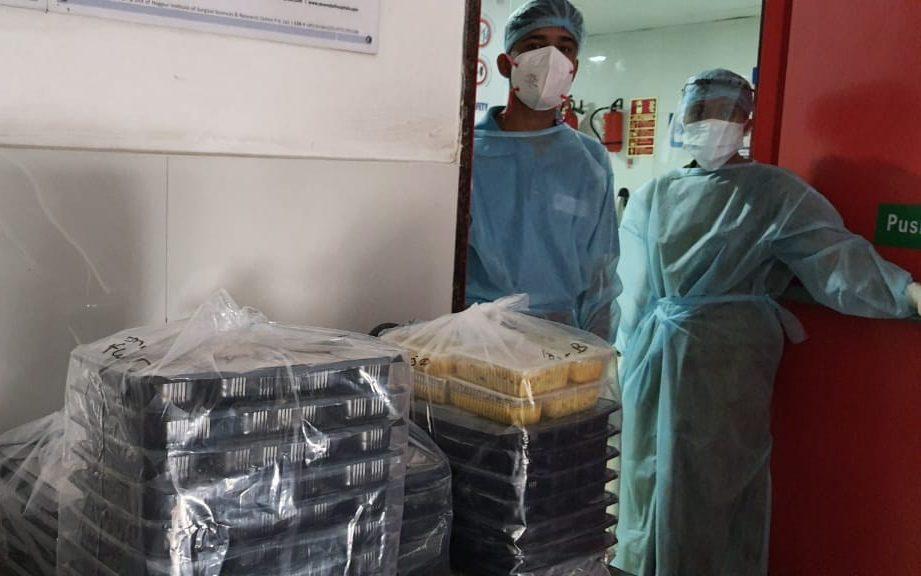 A Covid ward in Nagpur, India