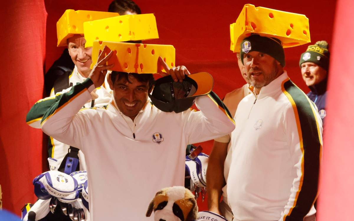, Team Europe's plan to win over the American Ryder Cup fans at Whistling Straits… become Cheeseheads, The Evepost BBC News