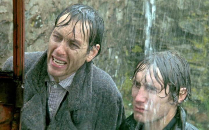 Richard E Grant and Paul McGann in Withnail & I