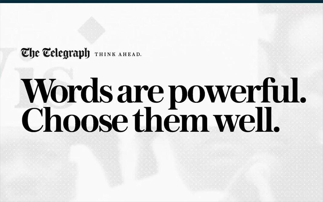 words chosen well the