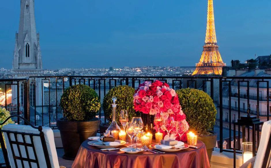 Top 10 The Best Honeymoon Hotels In Paris Telegraph Travel