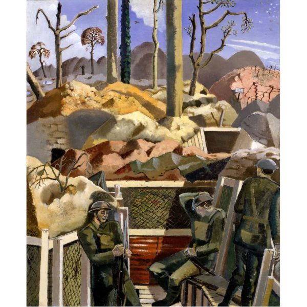 War Surrealism Paul Nash Tate Britain