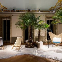 Swing Chair Patricia Urquiola White Slipcover Dining S Foldable Palaver Are Shown Here Alongside Her For Louis Vuitton