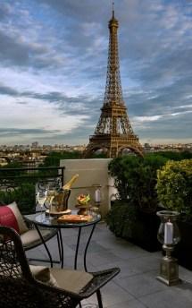 Shangri-la Paris Opens Krug Champagne Terrace