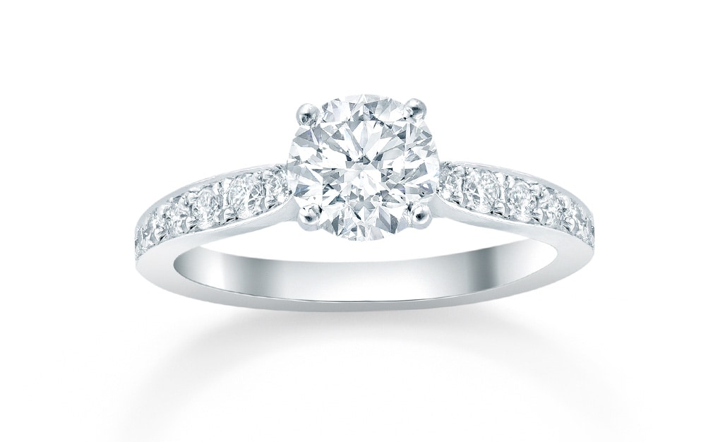 The Boscobel engagement ring by Mappin & Webb