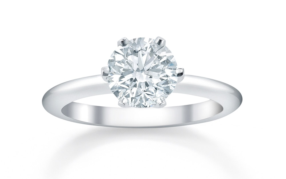 The Hermione engagement ring by Mappin & Webb