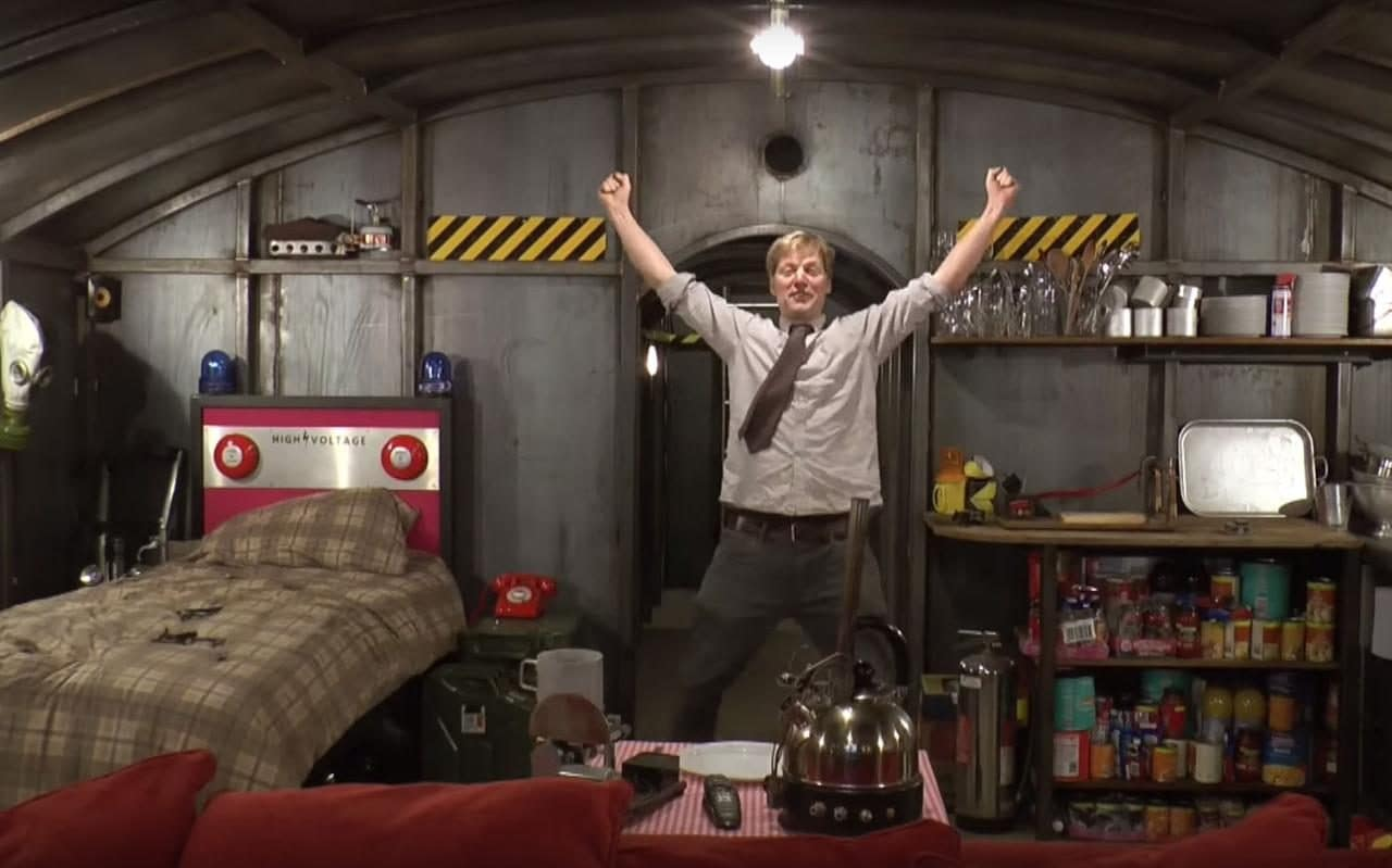 Meet the plumber who has built an underground apocalypse