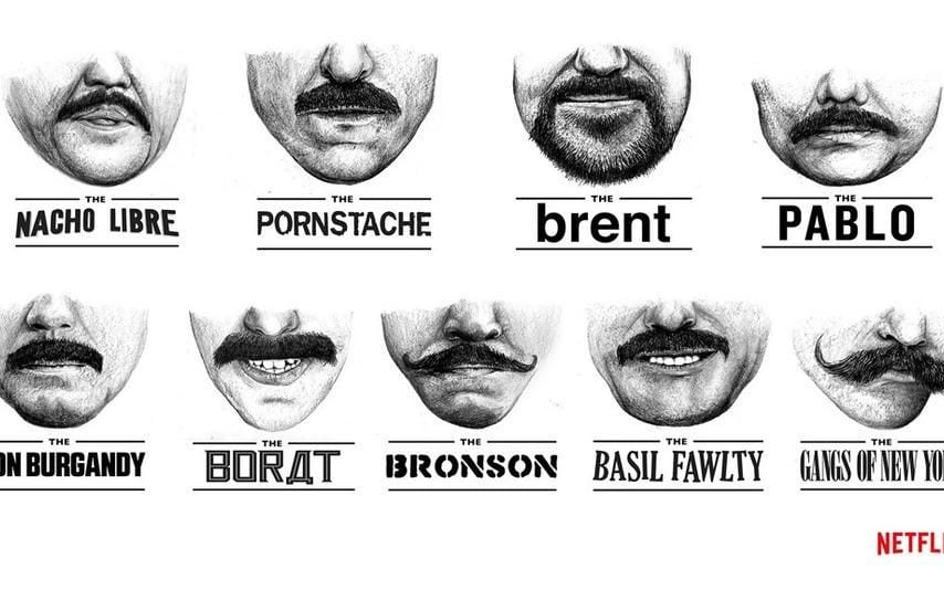 Grown a Movember moustache? Netflix released guide on how