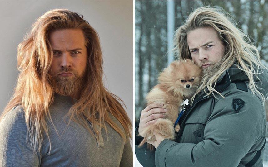 Thor Lives Meet Lasse L Matberg The Hot Viking Who