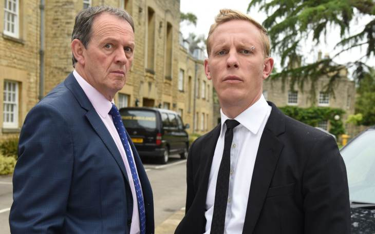 Kevin Whately and Fox in ITV's Lewis