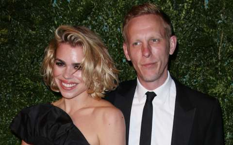 Fox and his ex-wife, the actress Billie Piper, in 2014
