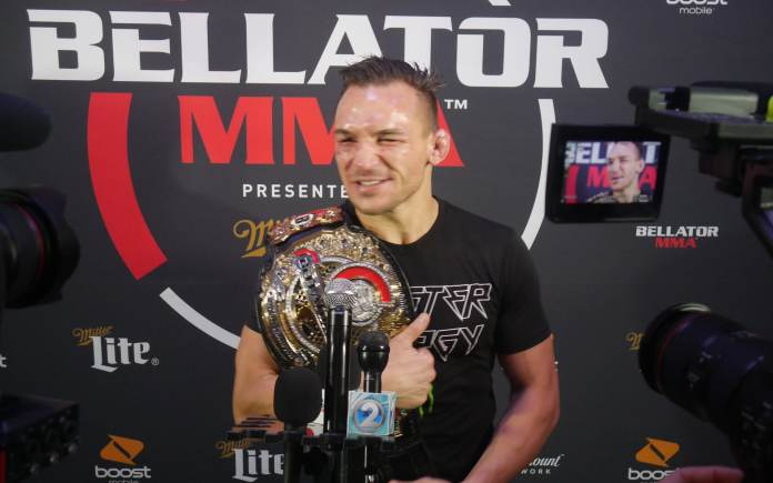 Bellator Hawaii: Dominant Michael Chandler talking to the media