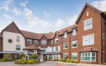 A Sunrise nursing home in Winchester; one Telegraph reader was charged £6,000 in entry fees by Sunrise