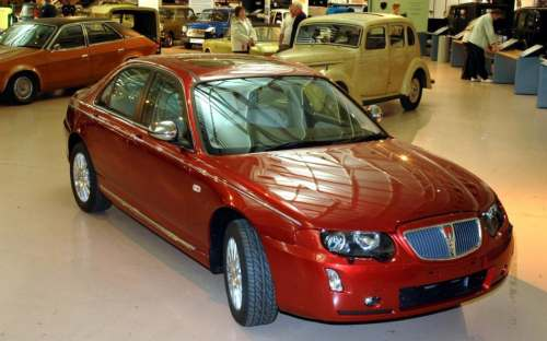 small resolution of rover 75
