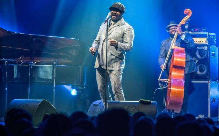 Gregory Porter performing in Hungary in July