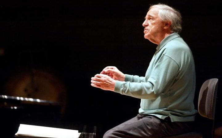 The composer and conductor Pierre Boulez, who died last year at the age of 90