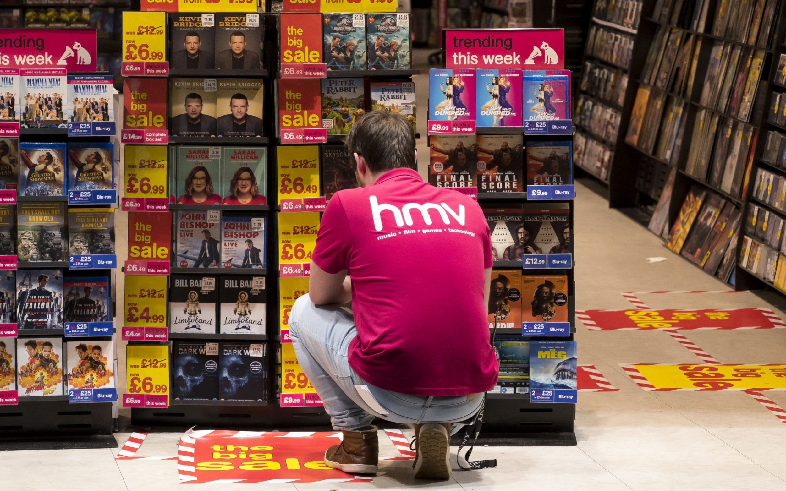 Without HMV. predictable streaming algorithms will ruin our taste in music