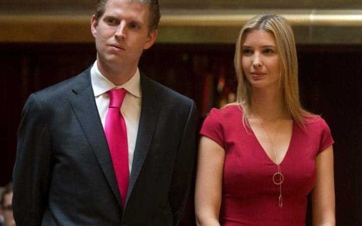 Eric and Ivanka Trump