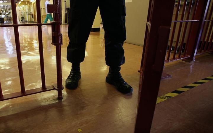 Inside a British prison