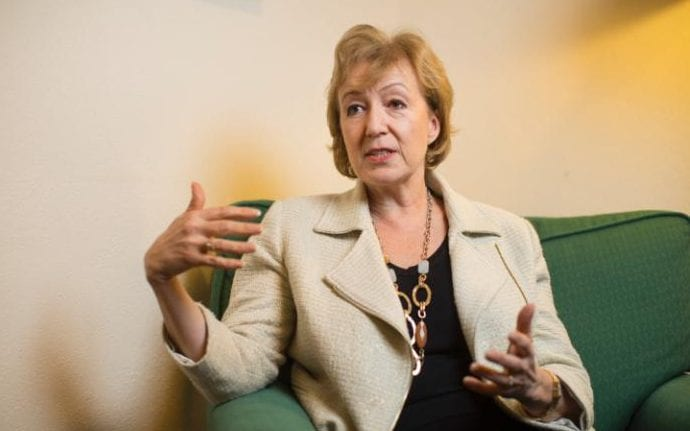 Andrea Leadsom, the energy minister