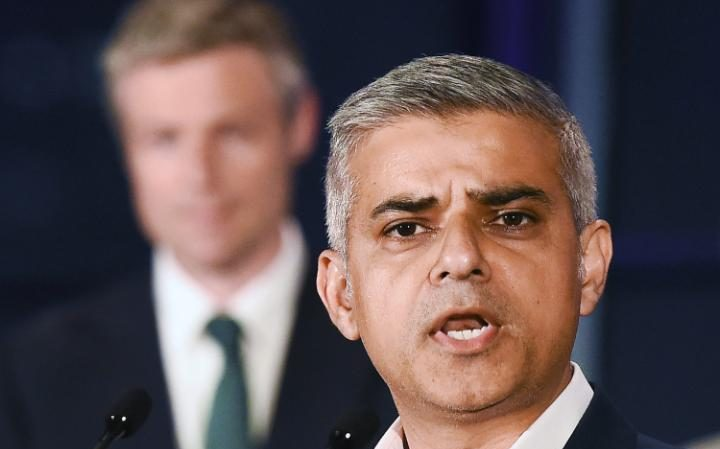 Sadiq Khan delivers victory speech