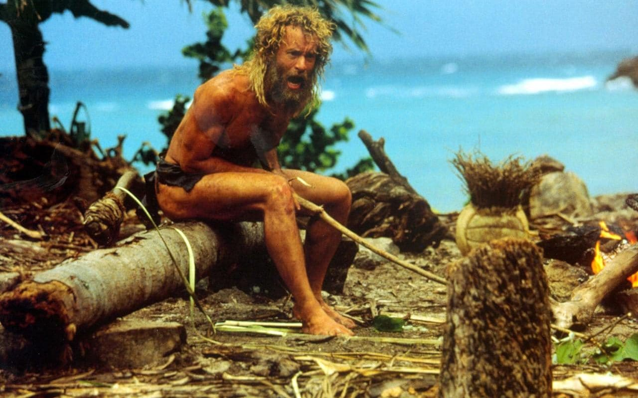 Tom Hanks cast away again but this time with music