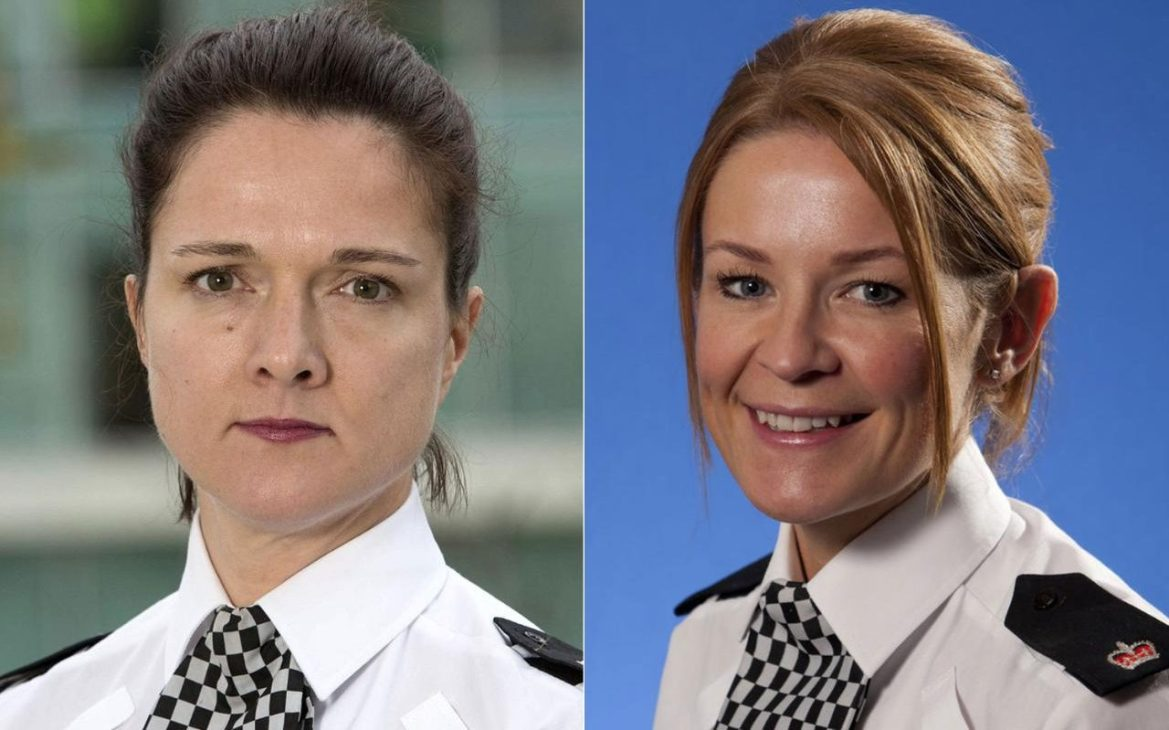 Senior policewoman suspended after spat with female colleague over 'who has  the best breasts'