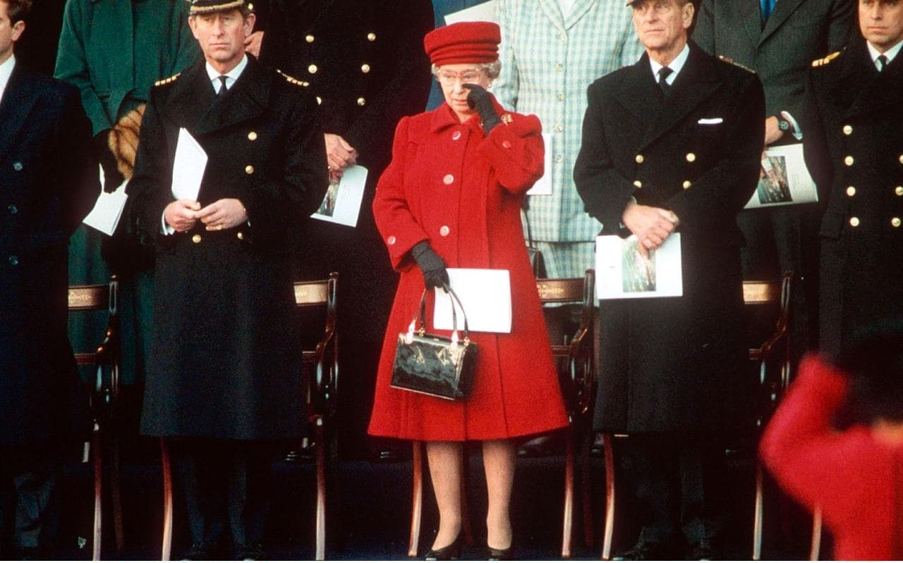 Royal Yacht Britannia Rules The Waves Once Again For Queen
