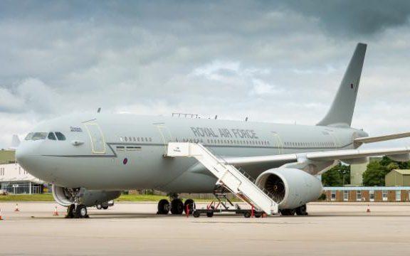 Airtanker A330 Voyager at RAF Brize Norton