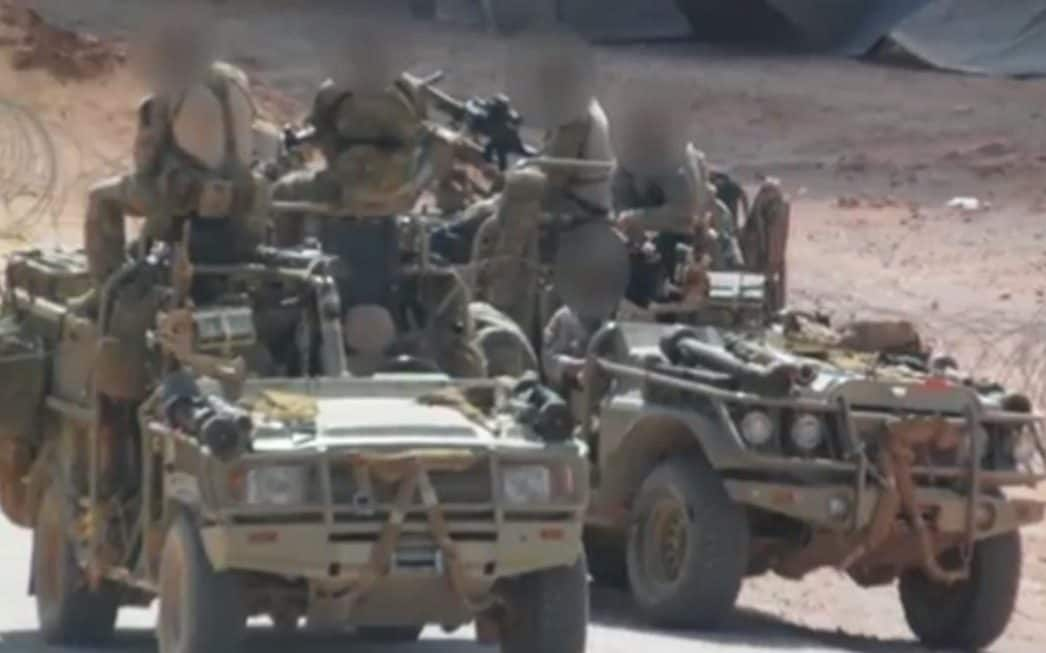 Photos showing British special forces operating in Syria against Isil