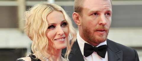Madonna and her former husband Guy Ritchie, in 2008