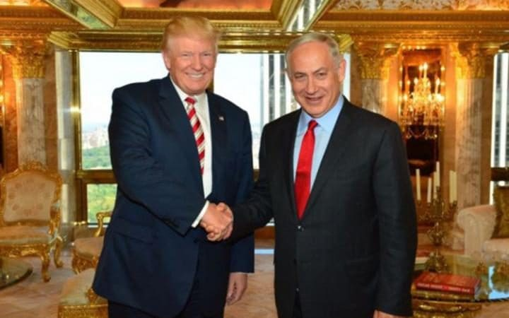 Image result for DONALD TRUMP MEETS WITH ISRAEL PRESIDENT