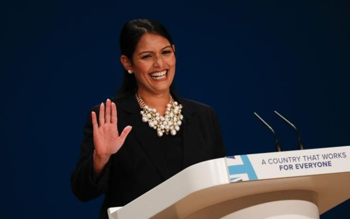 Priti Patel, international development secretary