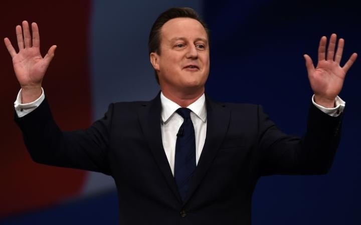 David Cameron is said to have been paid £120,000 for one speech