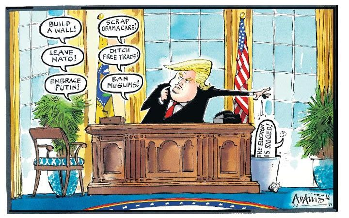 Donald Trump cartoons
