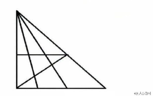 How many triangles can you see? Puzzle divides the internet
