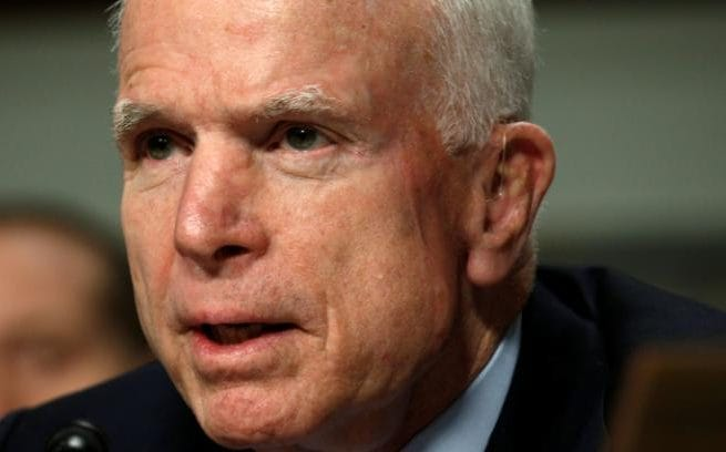 John McCain, chairman of the Senate Armed Services Committee, is a sponsor of the legislation