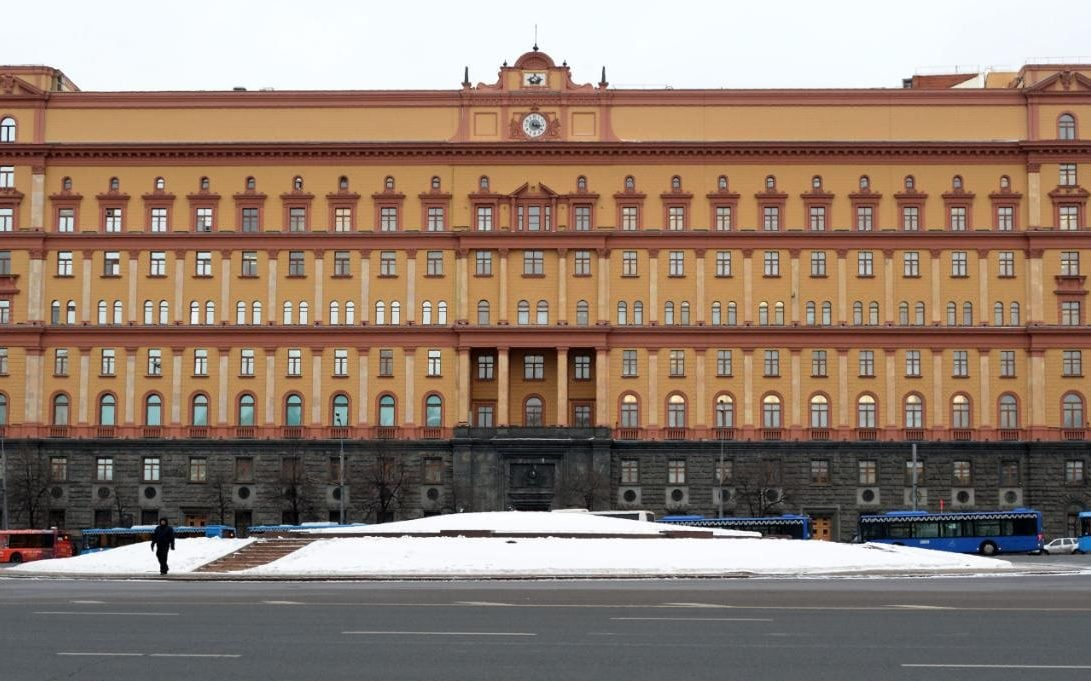 The headquarters of the Federal Security Service, the main successor agency to the KGB, in Moscow