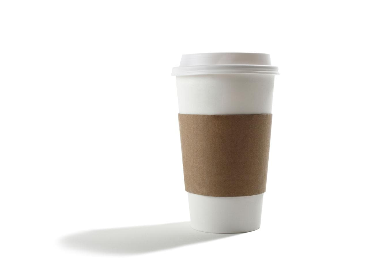 Just one in 400 coffee cups are recycled even if you put