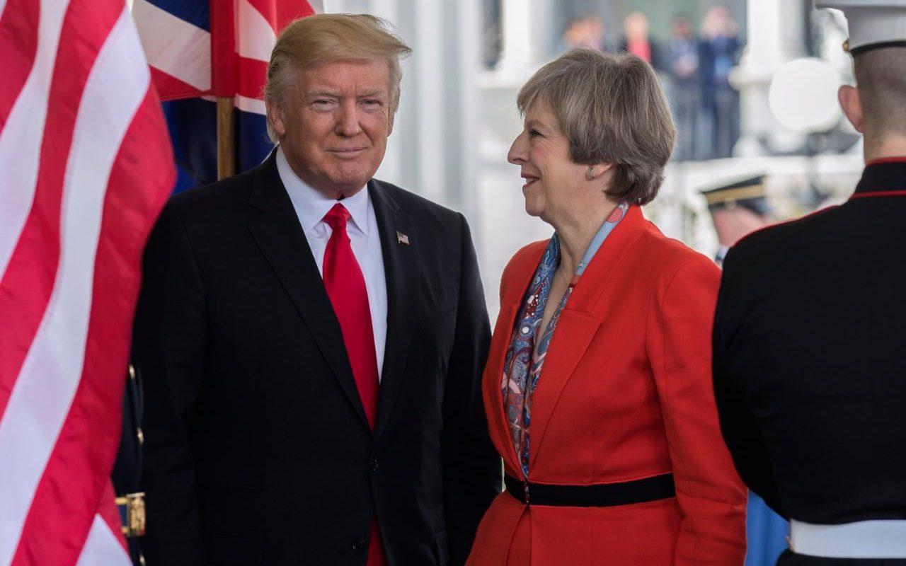 Dear Mr Trump Imagine If Theresa May Had To Cancel